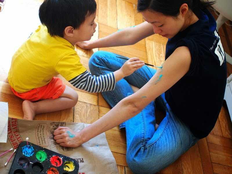 ev yapımı parmak boyası (5)