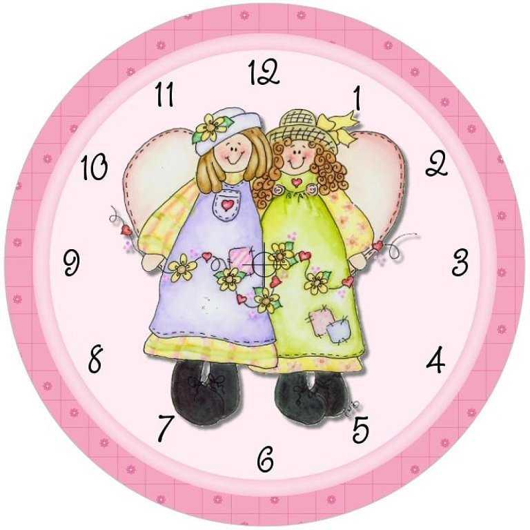 Okul Öncesi Hazır Saat Kalıpları ve Boyama Sayfaları