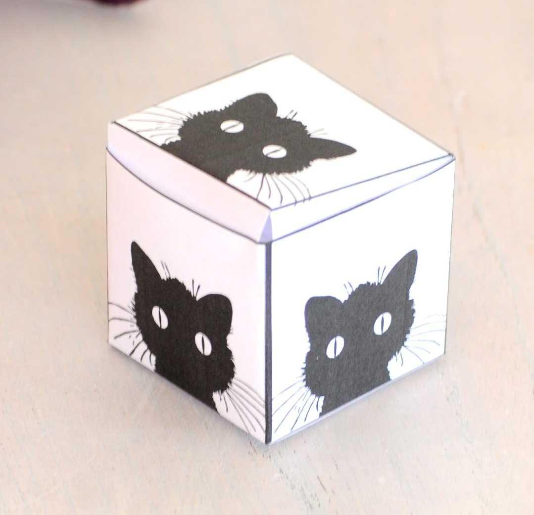 Karne Hediyesi İçin Sevimli Kutular ( Kalıpları)