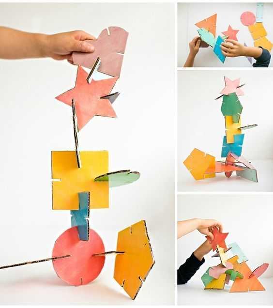 Koli Kartonu İle Geçmeli Eğitici Oyuncak Yapımı