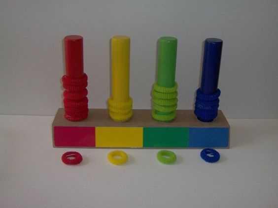 Renk Kavramı İçin Eğitici Oyuncak Yapımı