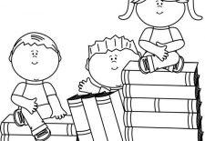 Kitap Boyama Sayfaları Okul öncesi Etkinlik Faliyetleri