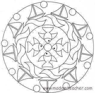 Mandala 20 Okul Oncesi Etkinlik Faliyetleri Madamteacher Com