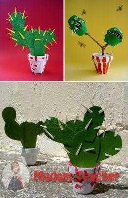 Kaktus Sanat Etkinligi Okul Oncesi Etkinlik Faliyetleri