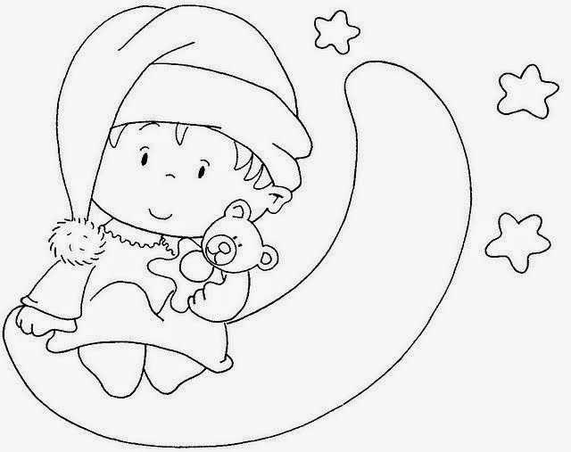 Bebek Boyama Sayfasi 25 Okul Oncesi Etkinlik Faliyetleri