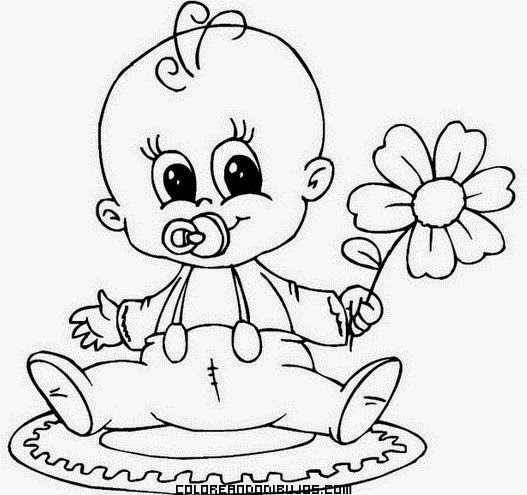 Bebek Boyama Sayfaları Okul öncesi Etkinlik Faliyetleri