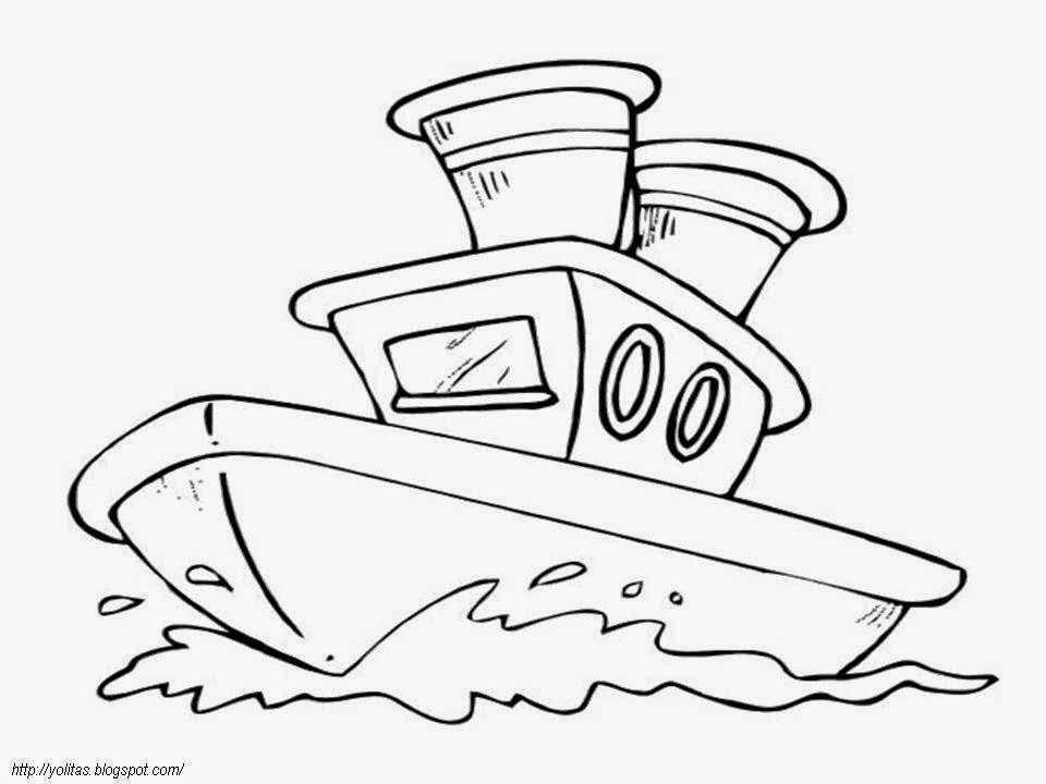 Deniz Tasitlari Boyama Sayfasi 11 Okul Oncesi Etkinlik