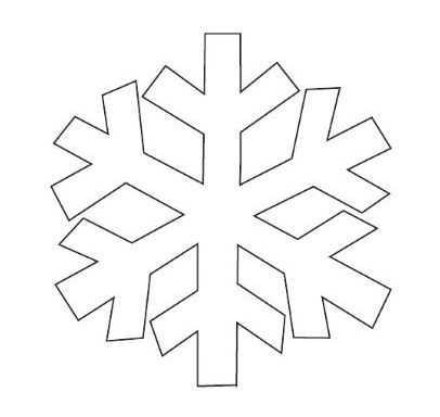 Kar Taneleri Boyama Sayfasi 4 Okul Oncesi Etkinlik Faliyetleri