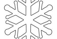 Kar Tanesi Boyama Sayfası Okul öncesi Etkinlik Faliyetleri