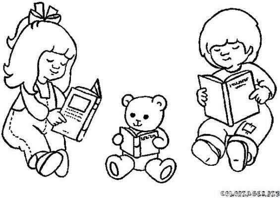 Kitap Merkezi Boyama 16 Okul öncesi Etkinlik Faliyetleri