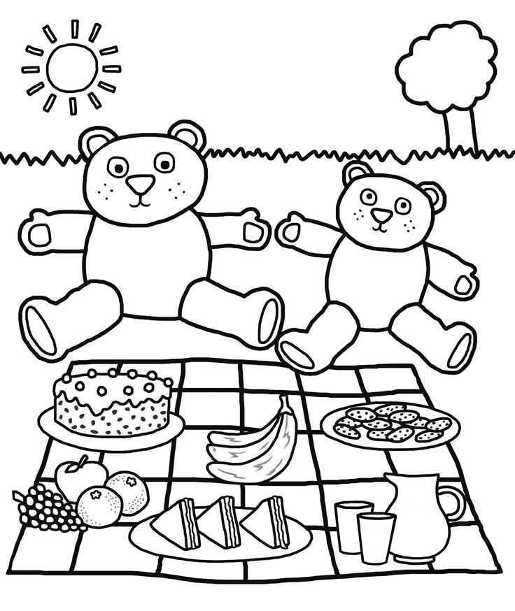 Piknik Ile Ilgili Sanat Etkinlikleri Okul öncesi Etkinlik