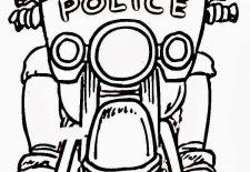 Trafik Polisi Boyama Ayfası Okul öncesi Etkinlik Faliyetleri