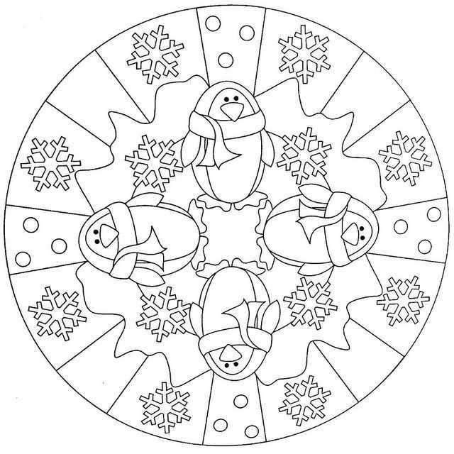 Kis Mevsimi Mandala 18 Okul Oncesi Etkinlik Faliyetleri