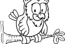 Baykuş Boyama Sayfaları Okul öncesi Etkinlik Faliyetleri