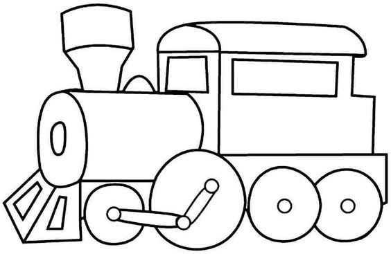 Yeni Tren Boyama Sayfalari En Iyi Boyama Cocuk Kitabi