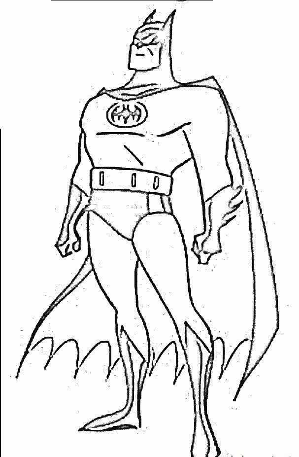 Boyama Kitaby Batman Boyama Resim Cizmek