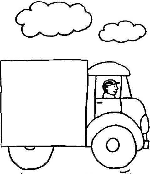Taşıtlar Boyama Sayfası Okul öncesi Etkinlik Faliyetleri