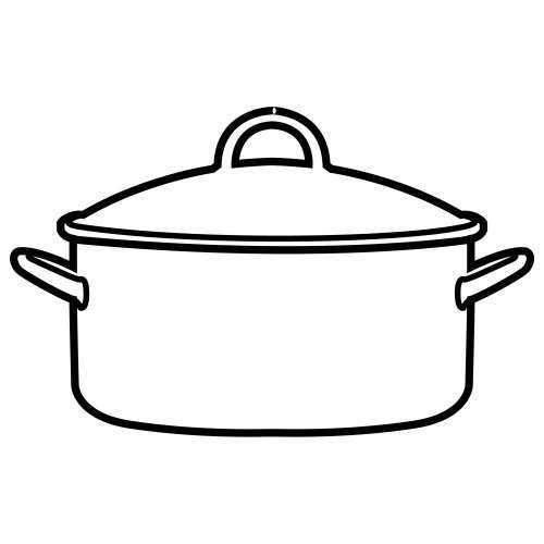 Okul öncesi Mutfak Eşyaları Boyama Sayfası Okul öncesi Etkinlik