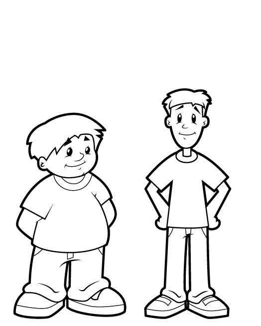 Okul öncesi şişman Zayıf Kavramı çalışmaları Okul öncesi Etkinlik