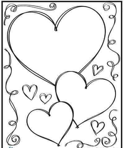 Anneler Gunu Kalp Boyama Sayfasi 1 Okul öncesi Etkinlik