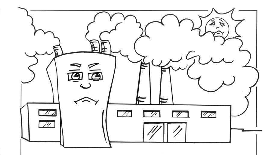 Okul öncesi çevre Kirliliği Ile Ilgili Boyamalar Okul öncesi