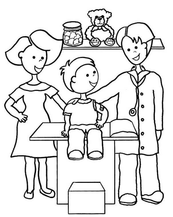Meslekler Boyama Sayfalari 2 Okul Oncesi Etkinlik Faliyetleri