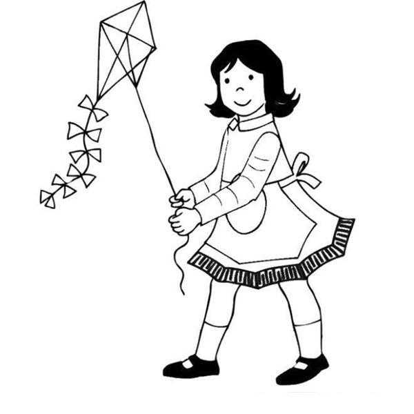 Springtime Coloring Pages Preschool Children Akctivitiys