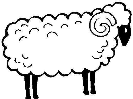 Preschool Sheep Coloring Pages And Patterns Preschool Children
