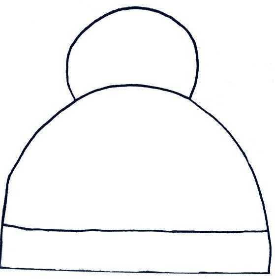 Preschool Hat Coloring Pages And Patterns Preschool Children
