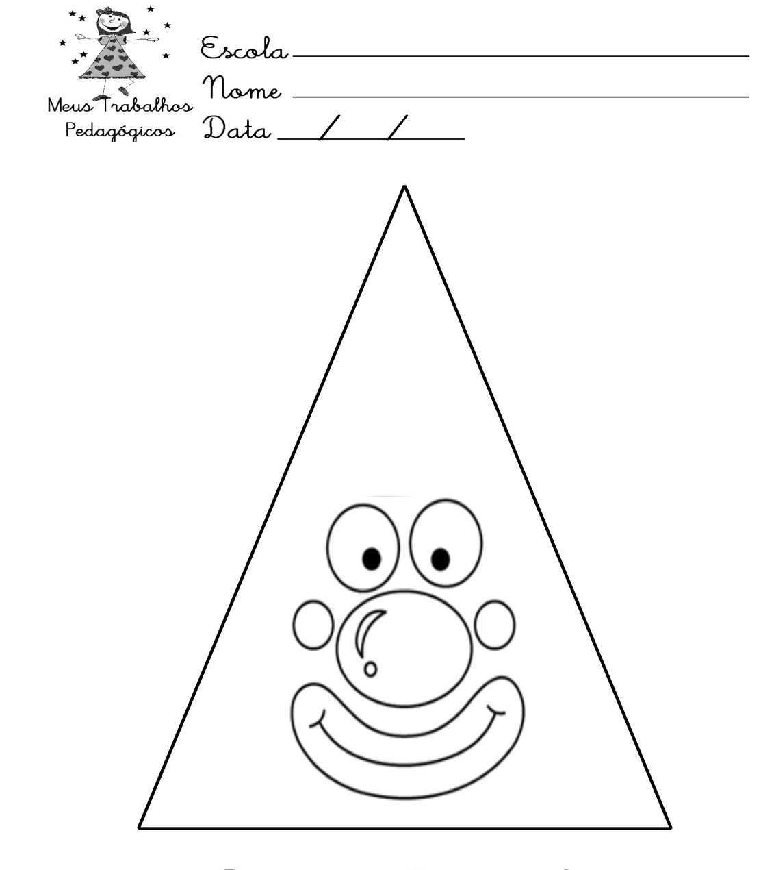 Okul öncesi üçgen Etkinlikleri Okul öncesi Etkinlik Faliyetleri