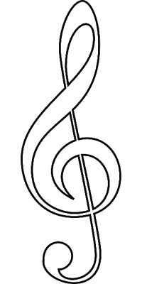 Muzik Notalari Boyama Sayfasi 2 Okul Oncesi Etkinlik