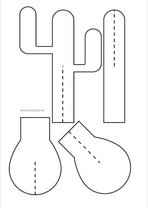 Okul Oncesi Kaktus Sanat Etkinlikleri 6 Okul Oncesi Etkinlik
