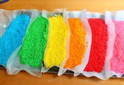 Renkli Pirinç Yapımı (Oyun Amaçlı )