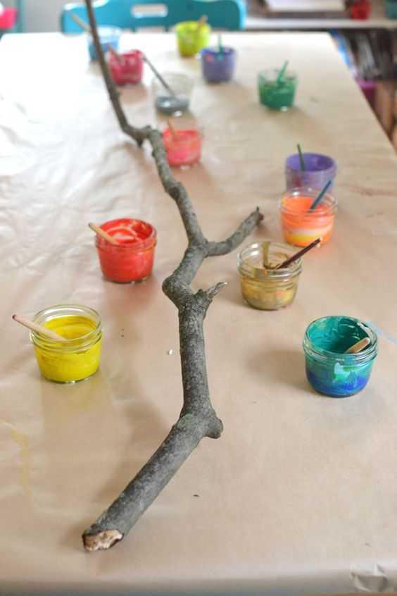 Okul Oncesi Agac Dali Sanat Etkinlikleri 2 Okul öncesi Etkinlik