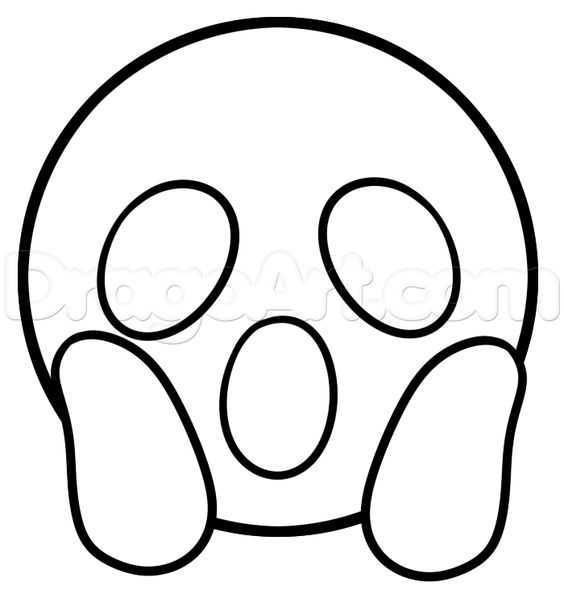 Duygular Öğretimi İçin Emoji Boyama Sayfaları
