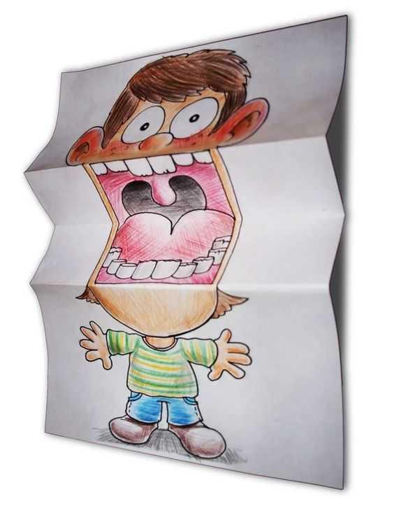 Ağzı Açık Çocuklar Diş Sanat Etkinliği ( Sağlık Haftası)