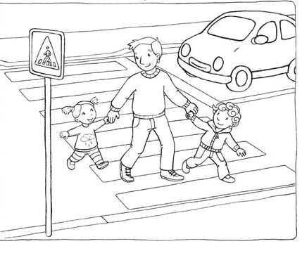 Simdiye Kadarki En Iyi Okul Oncesi Trafik Kurallar Boyama En