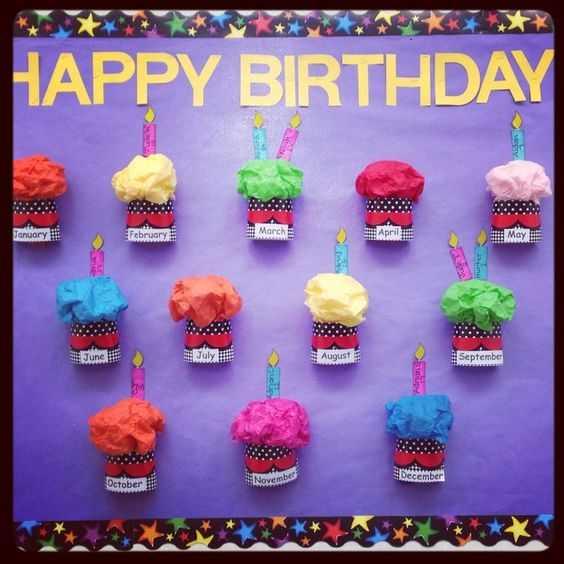 Okul Öncesi Doğum Günü Grafik Örnekleri