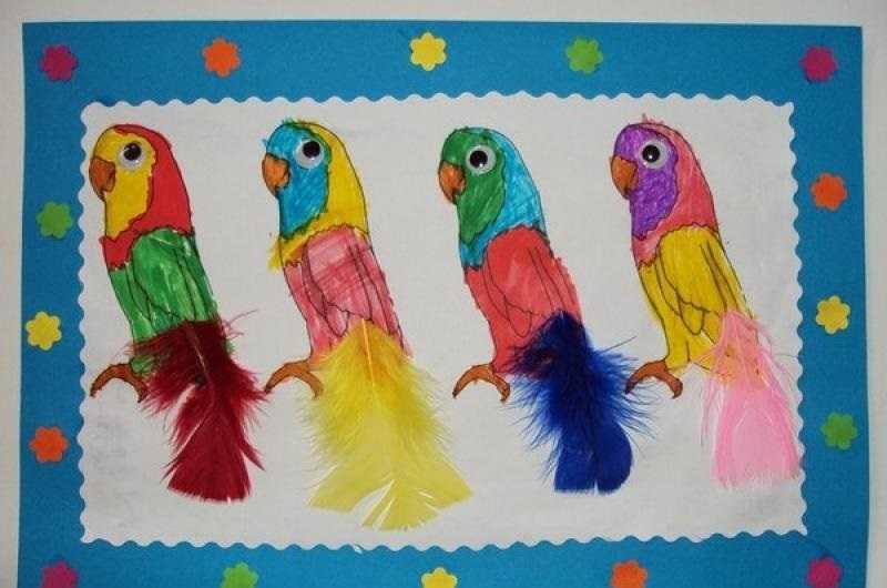 Okul Öncesi Papağan Sanat Etkinlikleri