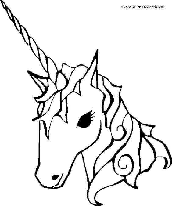 Okul Oncesi Unicorn Boyama Sayfası 5 Okul öncesi Etkinlik