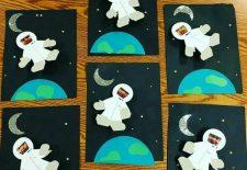 Okul Öncesi Astronot Sanat Etkinlikleri