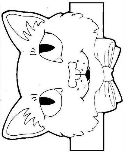 Boyama Sayfalı Hayvan Başlıkları Hayvanları Koruma Günü Okul