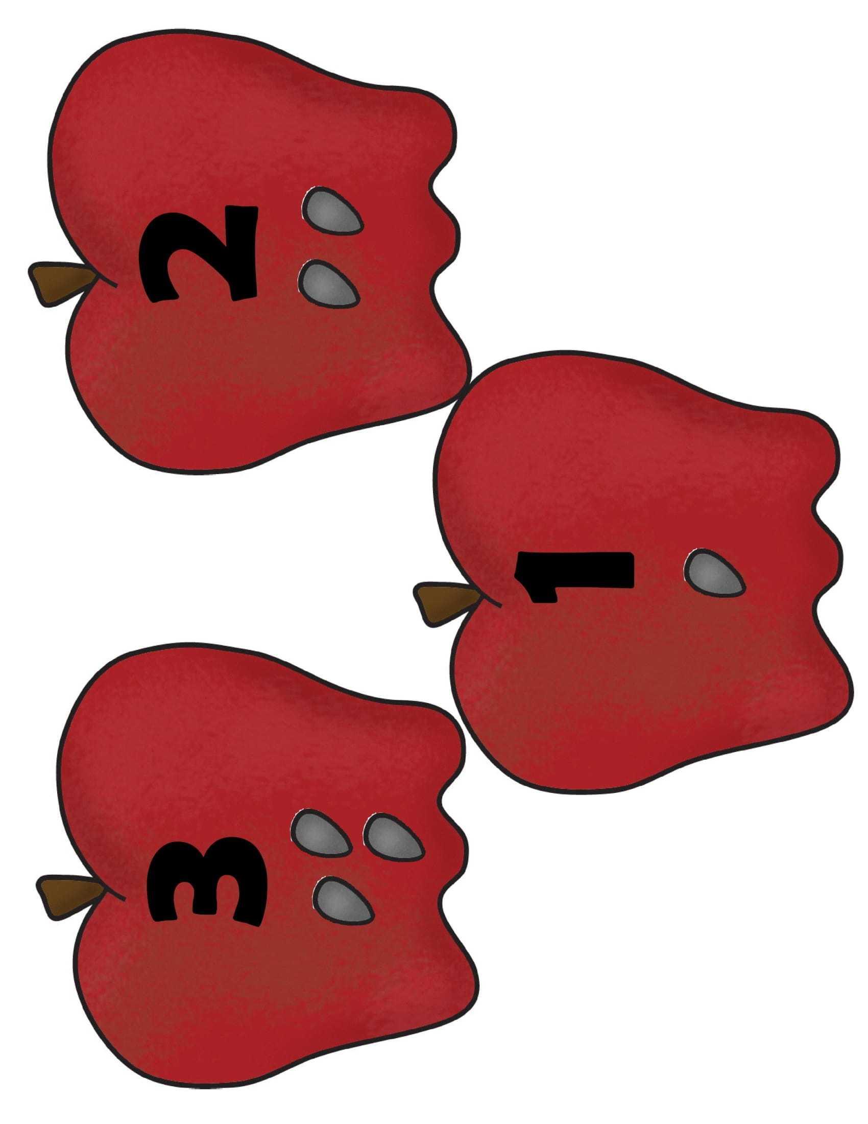 Elmalarla Toplama İşlemi Kartları