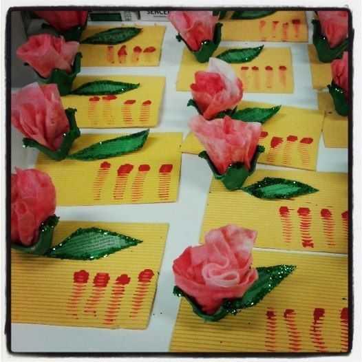 Anneler Günü İçin Artık Malzemelerle Çiçekler ve Kartlar