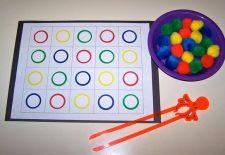 Dikkat Geliştirici Eğitici Oyuncak Yapımı ( renkler )