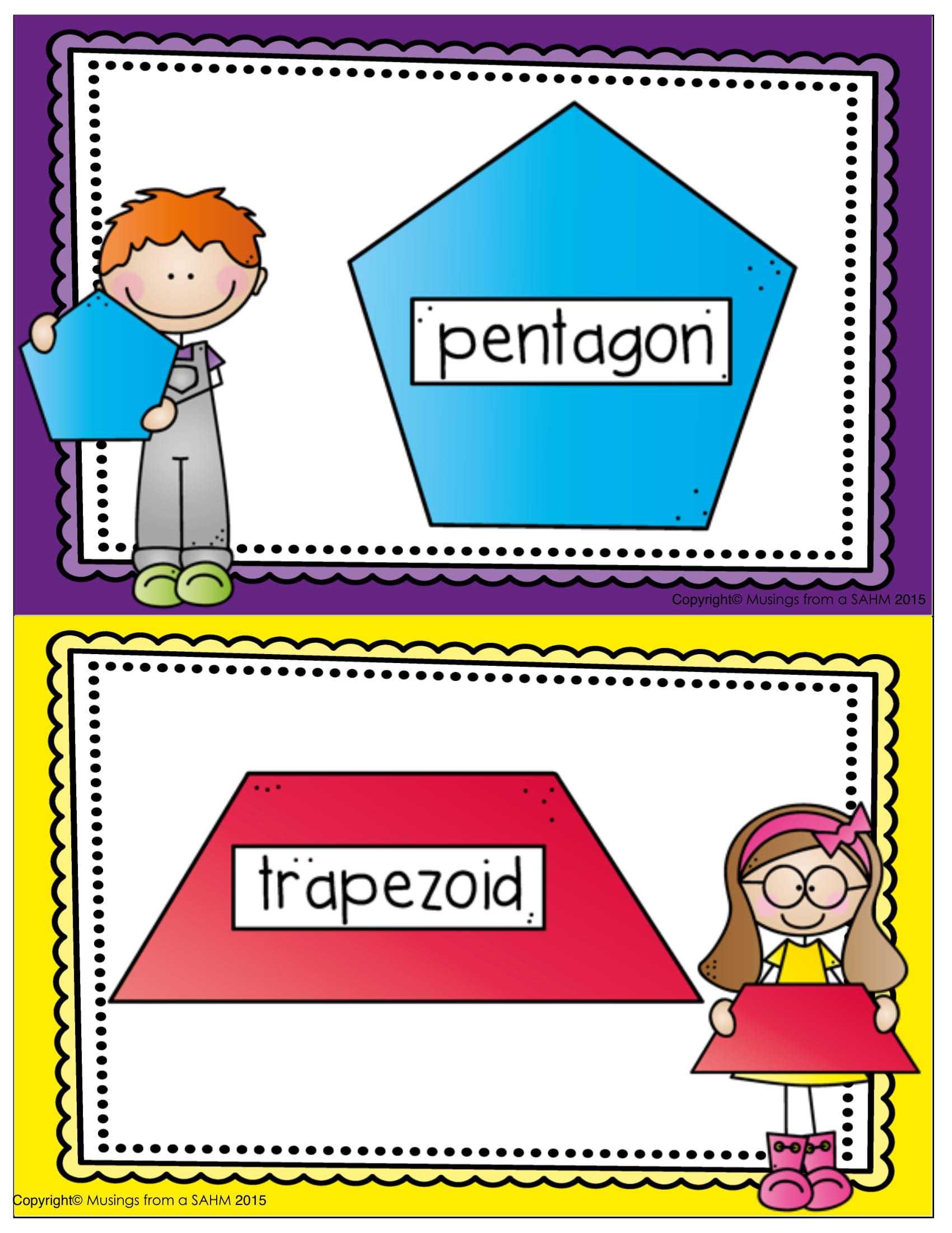 Okul Öncesi Oyun Hamuru Matları Şekiller