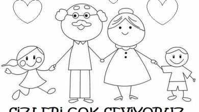 Dede Boyama Sayfası Okul öncesi Etkinlik Faliyetleri
